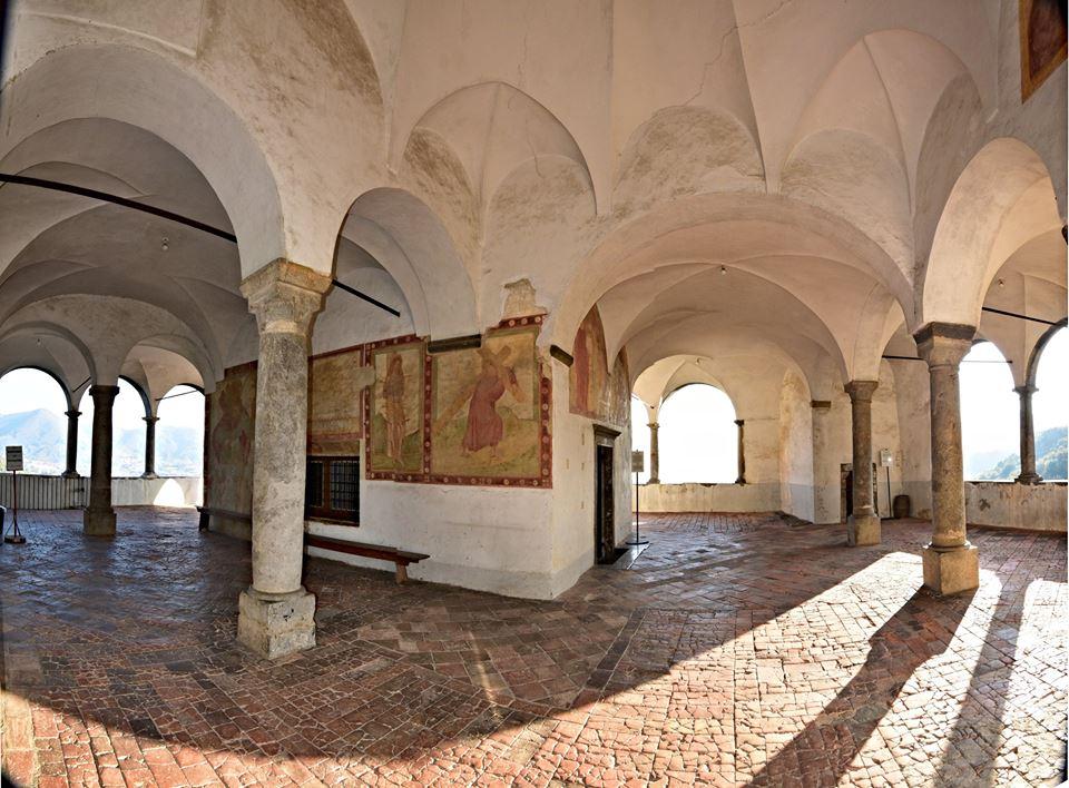 santuario di san patrizio di Colzate - visita guidata